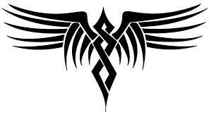 tribal wings digital version by dragonish on deviantart