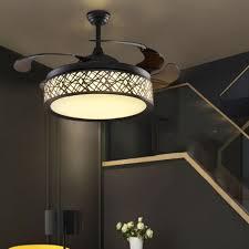 Wohnzimmer Lampe Drahtseil Aliexpress Com Hghomeart 110 V 220 V Led Fans Kronleuchter Licht