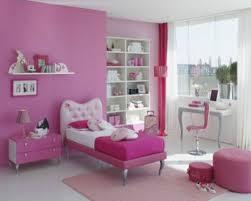 bedroom pink pillows bedcover blanket nightstand desk night lamp