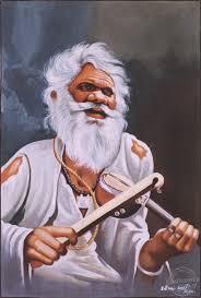 poster color drawing of poor man desipainters com