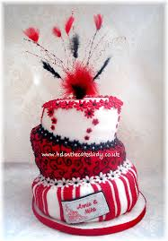 ruby wedding cakes topsy turvy ruby wedding anniversary cake a topsy cake des flickr