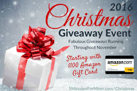 Amazon Com Gift Wrap - christmas giveaway event 2016 starting with 100 amazon gift card