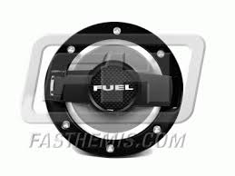 dodge challenger fuel billet aluminum fuel door assembly black outer