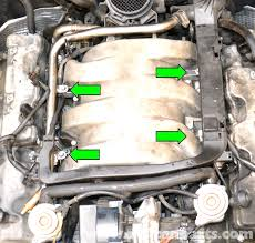 mercedes benz clk320 fuel injector replacement 2003 2006