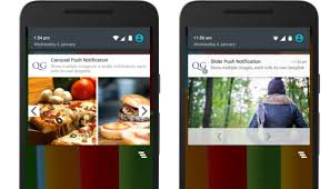 push notifications android introducing carousel and slider push notifications for android