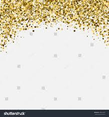 Invitation Card Background Gold Glitter Shimmery Heading Invitation Card Stock Vector