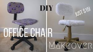 Diy Desk Chair Diy Office Chair Makeover Only 15 Great For Beginners