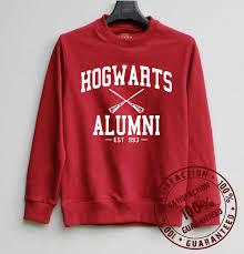hogwarts alumni sweater hogwarts alumni shirt harry potter by sweaterweather2014 on etsy