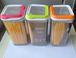 plastic kitchen canisters 1pcs plastic seal storage containers nuts suger tea canisters