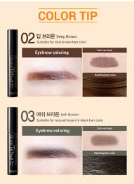 tattoo eyebrows by maybelline yadah quick tattoo brow gel 2 types to choose hermo online