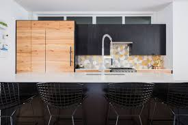 Yellow And Brown Kitchen Ideas Geometric Backsplash Designs And Kitchen Decor Possibilities