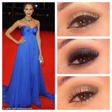 prom cobalt dress 1 clic this looks created a beautiful elongated eye shape