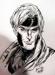 146 best comic art gambit images on pinterest comic books