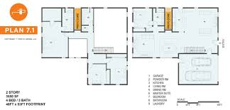 4 bed floor plans product proto homes