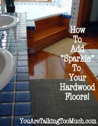 use windex multi surface cleaner to make hardwood floors and