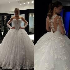 custom made wedding dress see through back lace up wedding dress custom made bridal gown