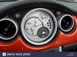 Mini Cooper Interior Car Bmw Mini Cooper Convertible Model Year 2004 Red Interior