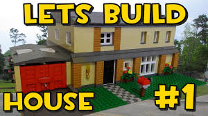 lets build lego family house 1 planning it out youtube