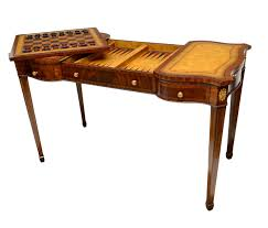 maitland smith game table maitland smith burled walnut game table spectacular holiday 2 day