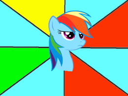 Rainbow Dash Meme - serious rainbow dash meme template by snakeman1992 on deviantart