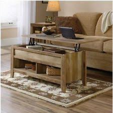 rustic coffee table with storage weathered coffee table ebay