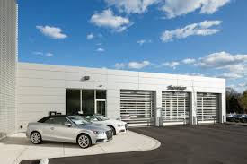 audi dealership jewel box for cars u2014 greg benson photography