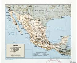 Map Of California And Mexico by Maps Of Mexico Detailed Map Of Mexico In English Tourist Map