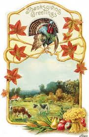 thanksgiving usa vintage thanksgiving greeting card with illustration of turkey and