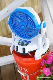 ryobi fan and battery a cooler summer with arctic cove ryobi battery and cove f c