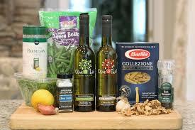 olive this u2013 recipe lemony green bean pasta salad with sicilian