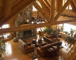 Log Homes Interior Designs 39 Best Dream Log Home Images On Pinterest Log Cabins Small Log
