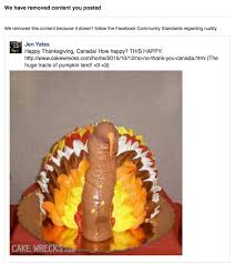 Thanksgiving Turkey Meme - epbot banned from facebook over a thanksgiving cake