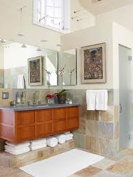 Natural Stone Bathroom Tile Inspiring Bathroom Floor Tile Ideas Hupehome