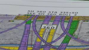 Dallas Traffic Maps by Gridlocked Interstate 30 Texas 360 Interchange Project Nbc 5