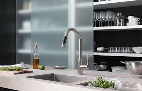 sync single lever mixer pull down kitchen taps from dornbracht