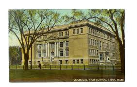 classical high school yearbook postcard classical high school massachusetts