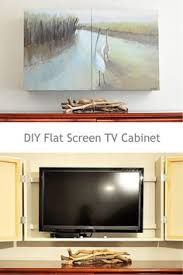 Decorative Flat Screen Tv Covers Gallery Frame Tv Cover Pottery Barn Basement Ideas Pinterest