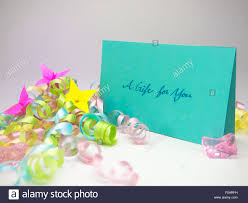 a message card for your family and friends stock photo royalty
