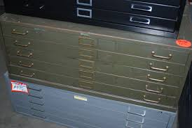 file cabinets excellent used flat file cabinets 134 metal flat