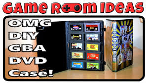 game room ideas diy gameboy advance game cases youtube