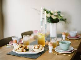 simple pastel easter table setting u2013 merry golden