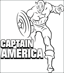 Captain America Coloring Pages Pdf World Of Craft Captain America Coloring Page