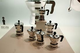 italian espresso maker moka italian espresso maker 3 cups polished aluminium 15 cl by
