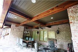 Exterior Beadboard Porch Ceiling - lovable covered patio ceiling ideas porch ceiling beadboard