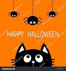 halloween background black cats happy halloween black cat face head stock vector 698081608