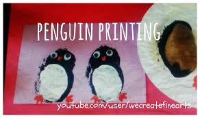 penguin potato printing youtube