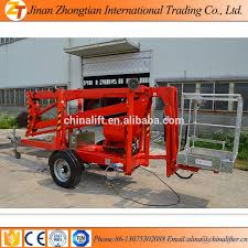 18m towable boom lift for sale trailer mounted boom lift truck
