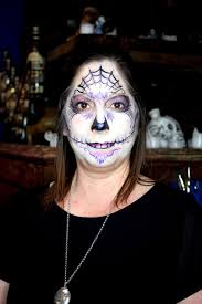 Halloween Skull Face Makeup by Sugar Skulls U0026 Halloween Archives The Magic Brush