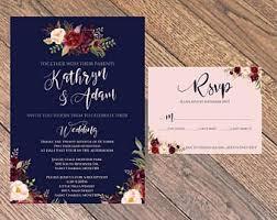 navy wedding invitations new wedding invitation maroon wedding invitation design