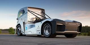 volvo diesel trucks volvo built a record smashing 2 400 hp truck as fast as a porsche 911